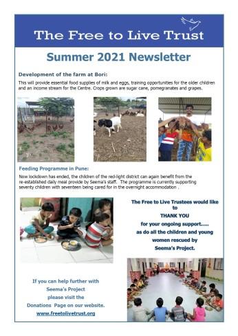 Summer 2021 A Newsletter -F2